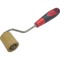 Faithfull Soft Grip Wooden Wallpaper Seam Roller