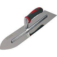 Faithfull Soft Grip Stainless Steel Flooring Trowel