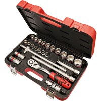 "Faithfull 24 Piece 1/2"" Drive Socket Set"