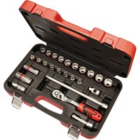 "Faithfull 25 Piece 3/8"" Drive Socket Set"