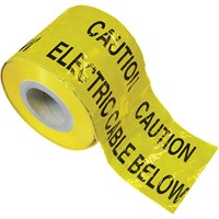 Faithfull Electric Cable Warning Tape
