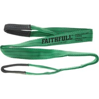 Faithfull Lifting Strap Reinforced Sling