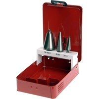 Faithfull 3 Piece HSS Taper Cone Drill Bit Set