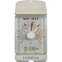 Faithfull Dial Max-Min Thermometer