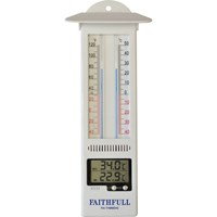 Faithfull Digital Min Max Thermometer