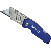 Faithfull Lock Back Utility Knife