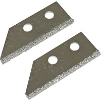 Faithfull Carbide Tile Grout Rake Blades