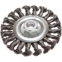 Faithfull Flat Twist Knot Wire Wheel Brush