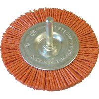 Faithfull Abrasive Nylon Bristle Wheel Brush