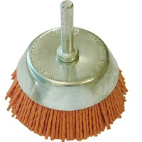 Faithfull Abrasive Nylon Bristle Cup Brush
