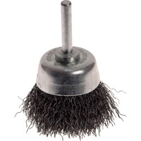 Faithfull Stainless Steel Crimped Wire Cup Brush