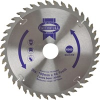 Faithfull Wood Cutting Saw Blade