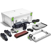 Festool BS 75 E-SET Belt Sander And Sanding Frame