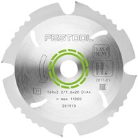 Festool 160mm Cement & Gypsum Bonded Ciruclar Saw Blade
