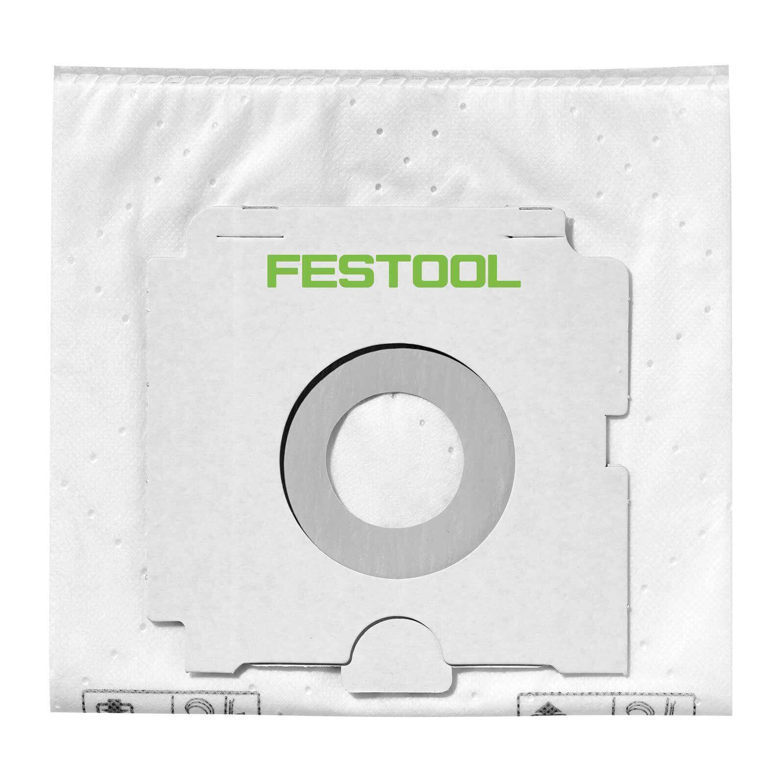 Festool SC FIS-CT SYS/5 Self Clean Filter bag Pack of 5