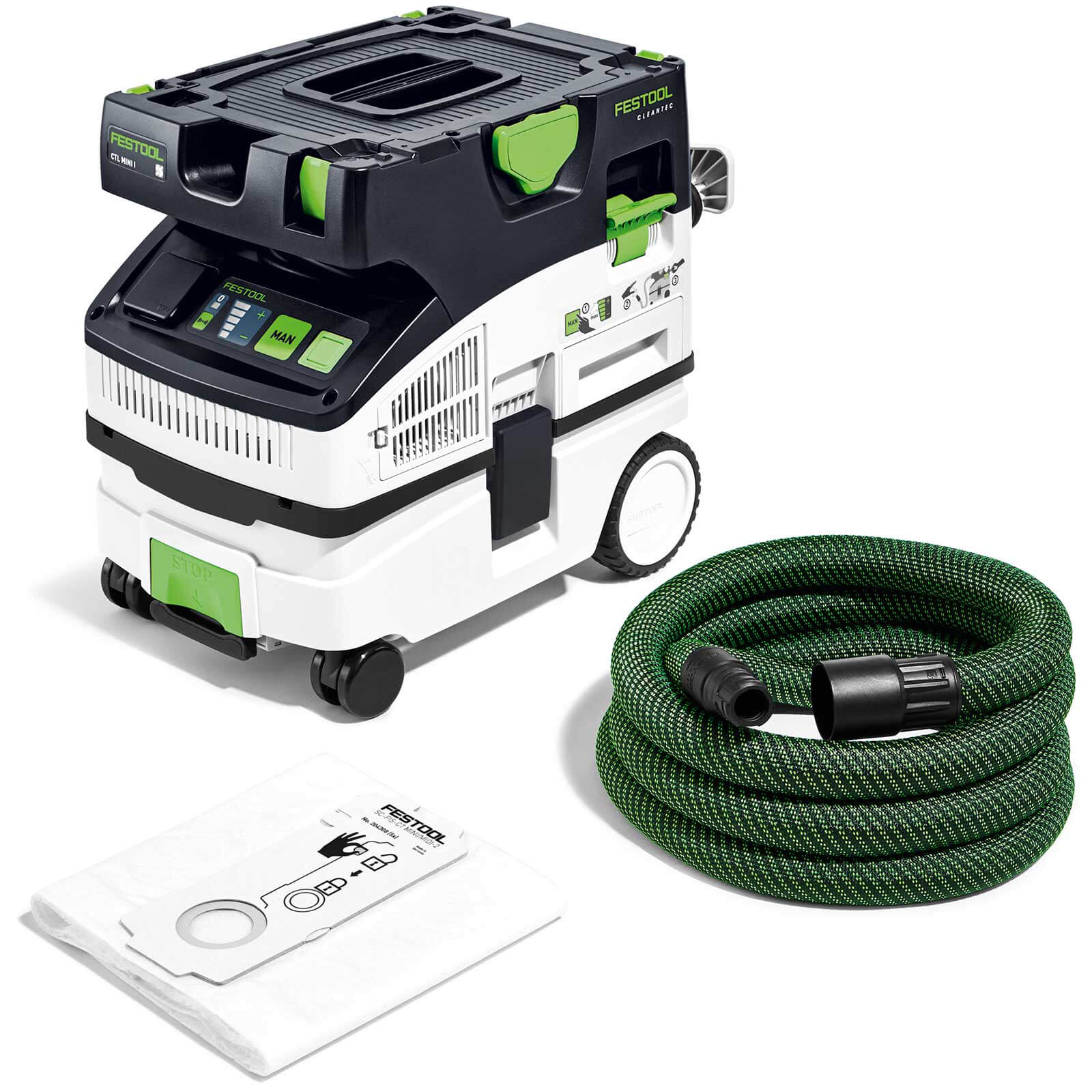 Festool CTM Midi Cleantec M Class Mobile Dust Extractor 110v