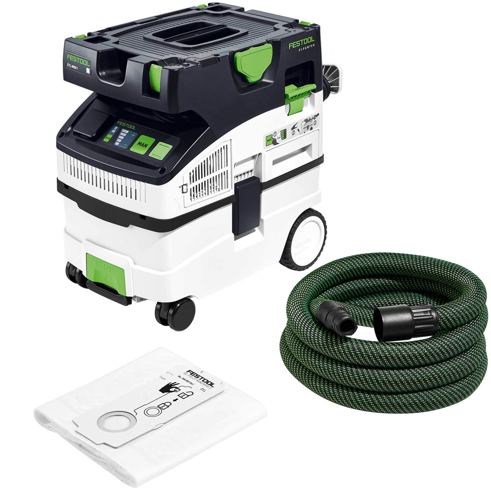 Festool CTL Midi Cleantec L Class Mobile Dust Extractor 110v