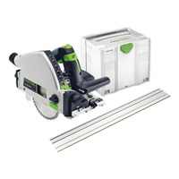 Festool TS55 REBQ + FS Plunge Cut Circular Saw & Guide Rail Kit 240v