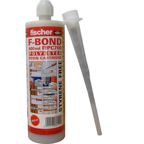 Fischer F Bond Polyester Polyester Resin Cartridge 400ml