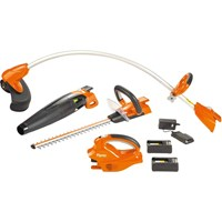 Flymo C-LI 20V Cordless 3 in 1 Trimmer and Blower Kit