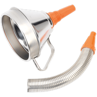 Sealey Funnel Metal Flexible Spout and Filter