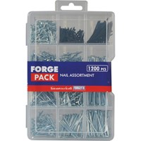 Forgefix 1200 Piece Nail & Panel Pin Assortment