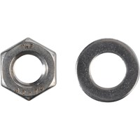 Forgefix A2 Stainless Steel Nuts & Washers