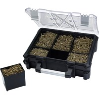 Forgefix Spectre 1200 Piece Wood Screw Assortment in Carry Case