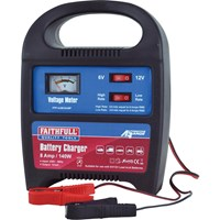 Faithfull Power Plus Automtove Battery Charger