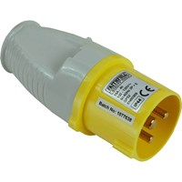 Faithfull Yellow Plug 16 amp 110v