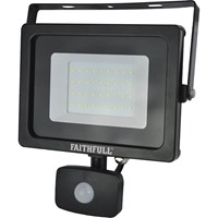 Faithfull Security Light With Pir 2400 Lumen