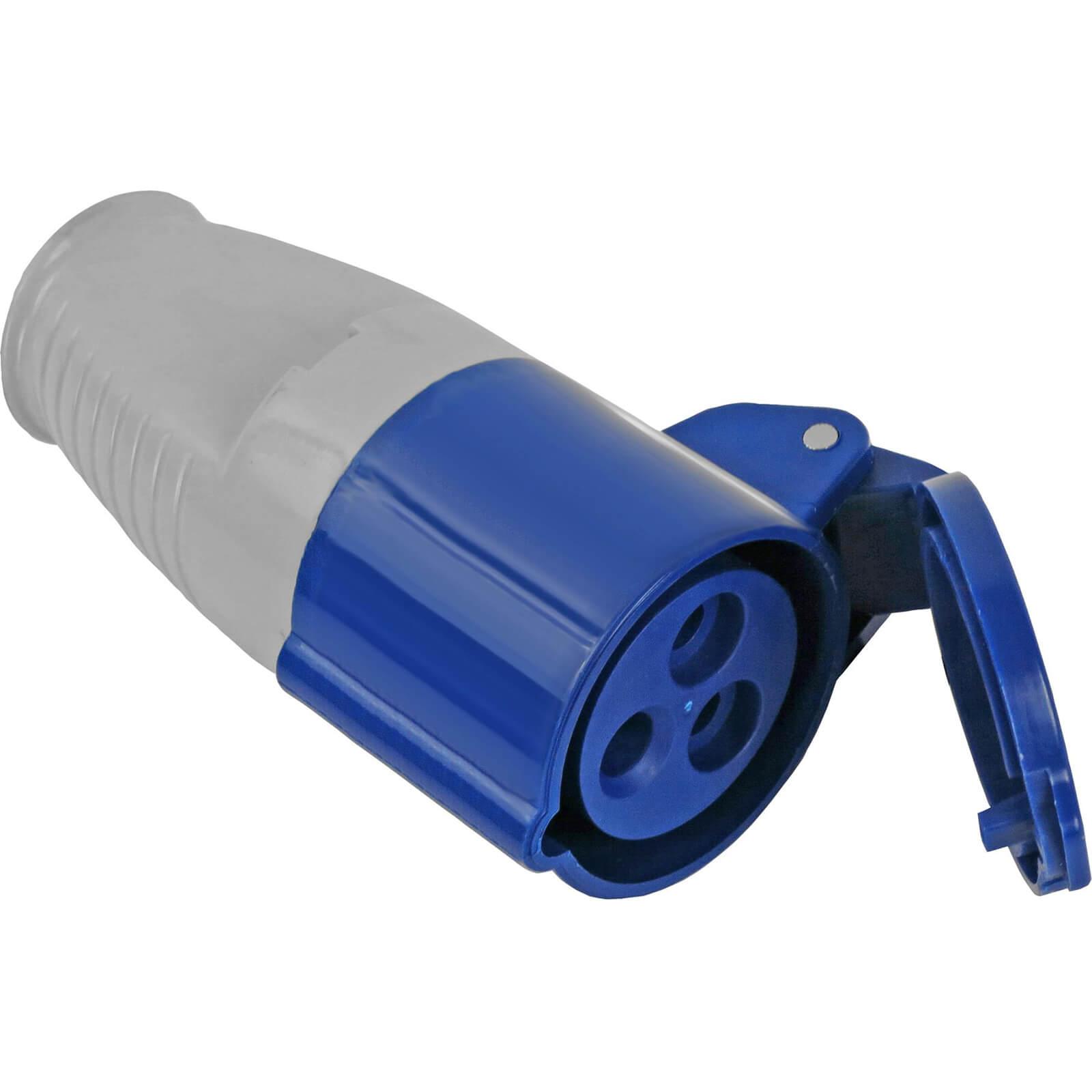 Faithfull Blue Socket 16 amp 240v