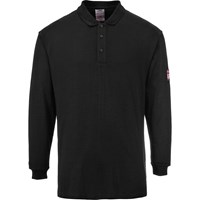 Modaflame Mens Flame Resistant Antistatic Long Sleeve Polo Shirt