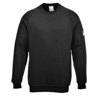 Modaflame Mens Flame Resistant Antistatic Long Sleeve Sweatshirt