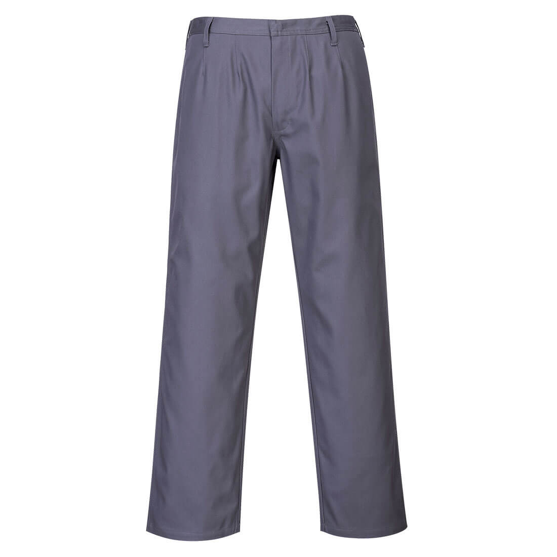 Image of Biz Flame Pro Mens Flame Resistant Trousers Grey 2XL 32""