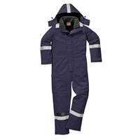 Biz Flame Flame Resistant Antistatic Winter Overall