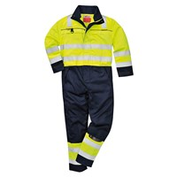 Biz Flame Hi Vis Multi-Norm Flame Resistant Coverall