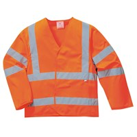 Biz Flame Class 3 Hi Vis Anti Static Flame Resistant Jacket