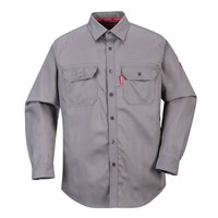 Biz Flame Mens Flame Resistant Work Shirt