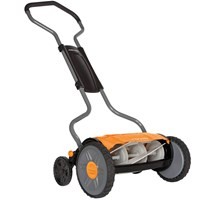 Fiskars Staysharp Plus Reel Push Hand Cylinder Lawnmower