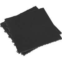Sealey Anti Slip Polypropylene Floor Tile Black