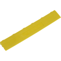 Sealey Anti Slip Polypropylene Female Edging Tile Yellow