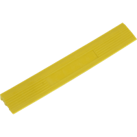 Sealey Anti Slip Polypropylene Male Edging Tile Yellow