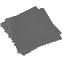 Sealey Anti Slip Polypropylene Floor Tile Grey