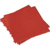 Sealey Anti Slip Polypropylene Floor Tile Red