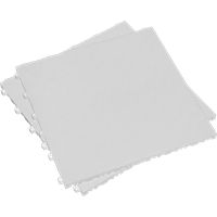 Sealey Anti Slip Polypropylene Floor Tile White