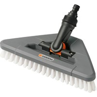 Gardena Running Water Scrubbing Brush With Elbow Joint