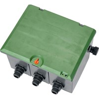 Gardena SPRINKLERSYSTEM Valve Box V3 for Three 9V