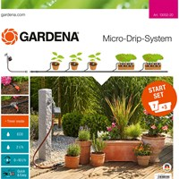 Gardena MICRO DRIP 7 Pot & Planter Water Irrigation & Water Timer Starter Set