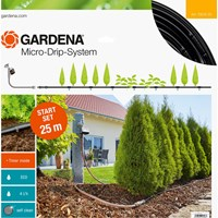 Gardena MICRO DRIP Plant Rows Water Irrigation & Water Timer Starter Set